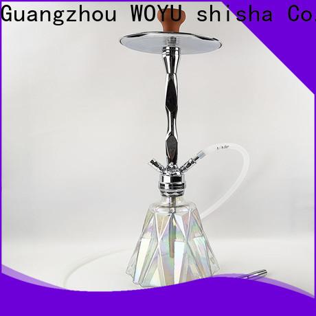 WOYU best-selling zinc alloy shisha supplier for business