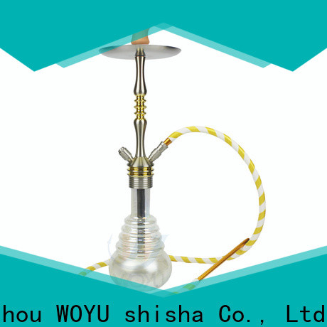 WOYU aluminum shisha one-stop services for b2b