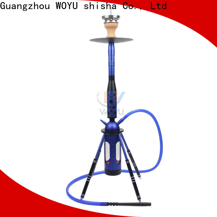 WOYU inexpensive aluminum shisha one-stop services for importer