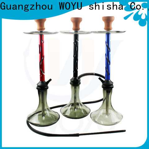 WOYU aluminum shisha from China for business