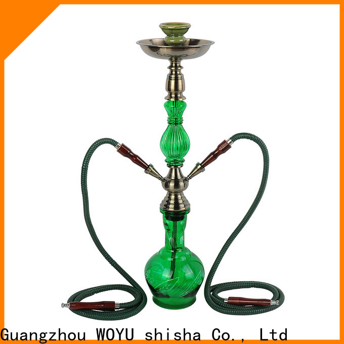 WOYU personalized iron shisha factory for importer