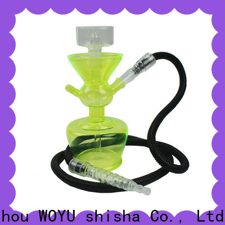100% quality glass shisha manufacturer for trader