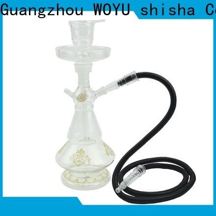WOYU traditional glass shisha manufacturer for importer
