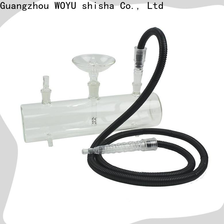 WOYU 100% quality glass shisha supplier for business
