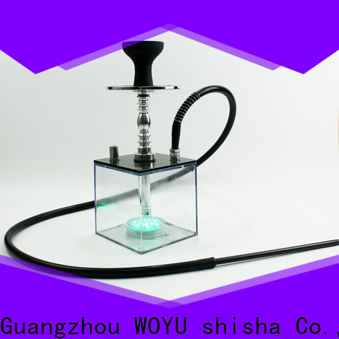 WOYU inexpensive acrylic shisha wholesale for importer
