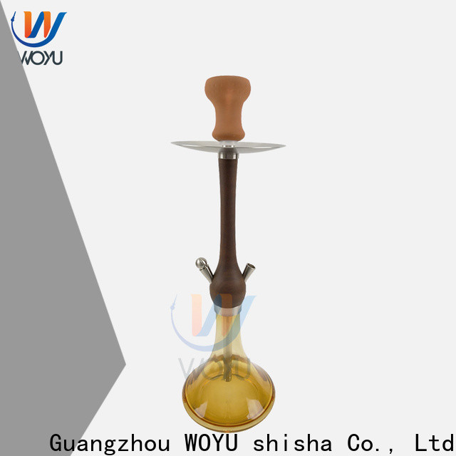 WOYU personalized wooden shisha quick transaction for market