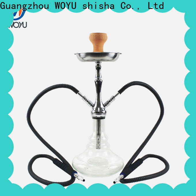 WOYU zinc alloy shisha factory for trader