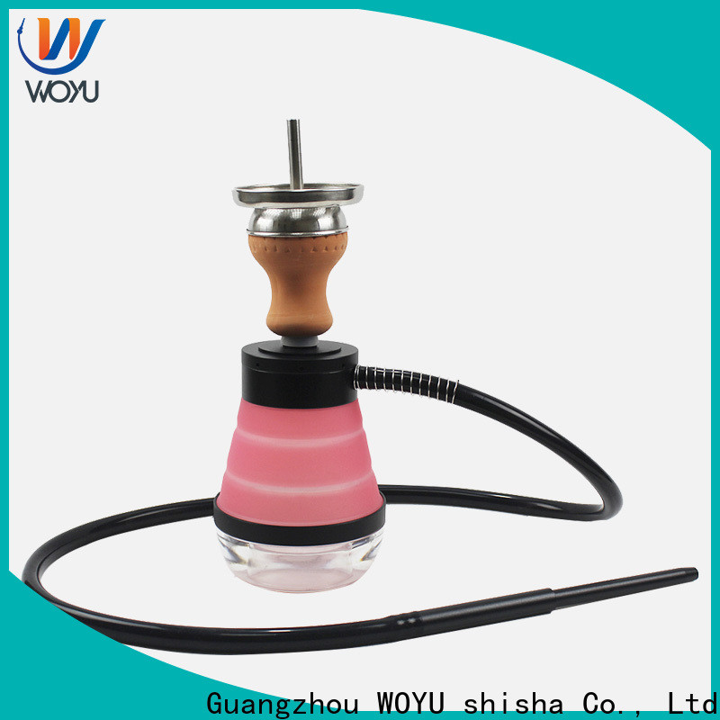 WOYU best-selling silicone shisha factory for trader