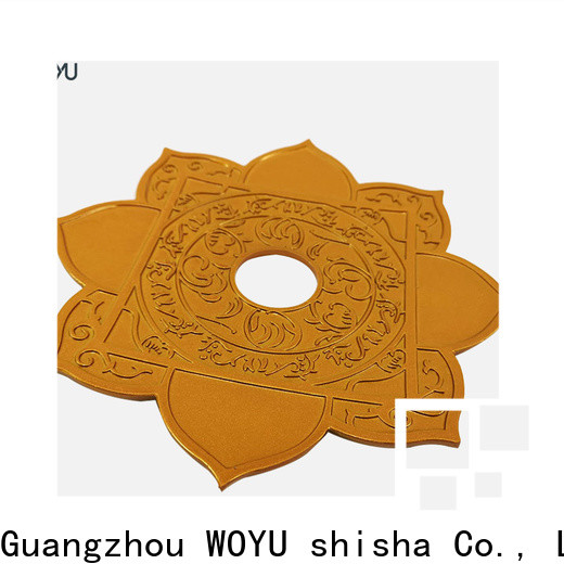 WOYU cheap shisha plate factory for trader