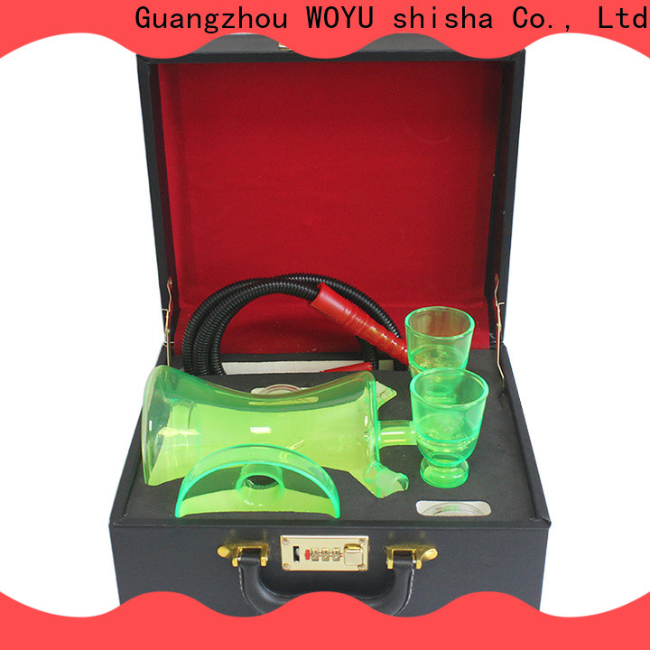 WOYU glass shisha supplier for business