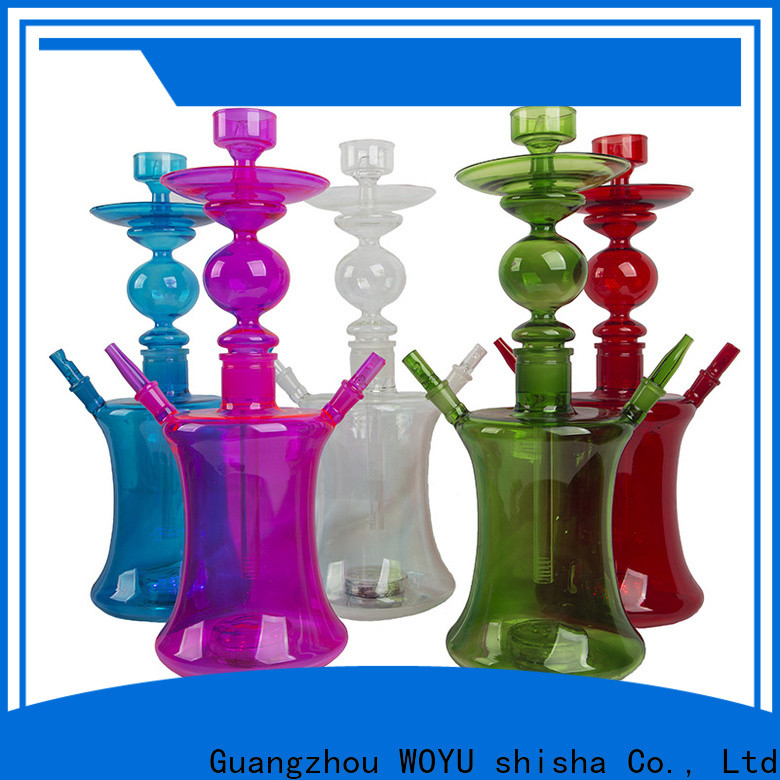 WOYU glass shisha supplier for market