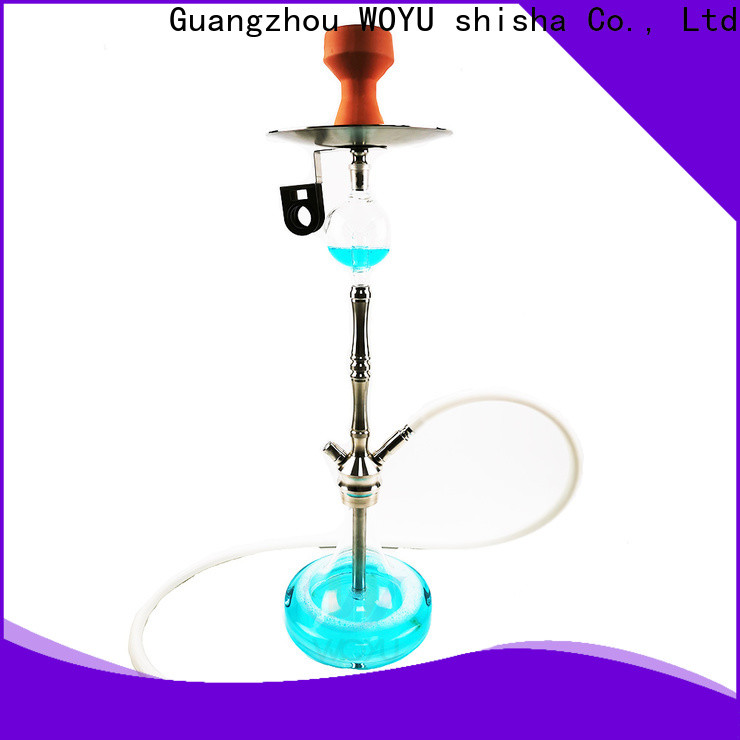 WOYU traditional stainless steel shisha supplier for importer