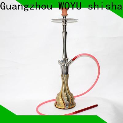 WOYU stainless steel shisha supplier for market