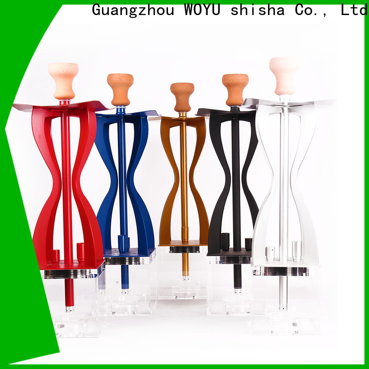 WOYU personalized acrylic shisha one-stop services for b2b