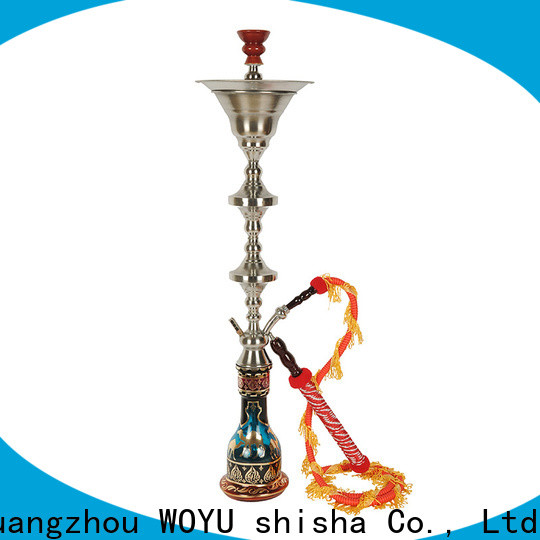 WOYU stainless steel shisha manufacturer for market