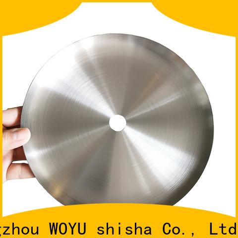 WOYU shisha plate manufacturer for business