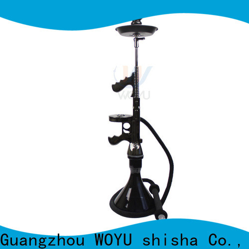WOYU personalized resin shisha factory for business