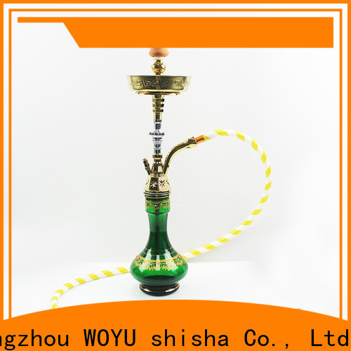 WOYU best-selling zinc alloy shisha factory for importer