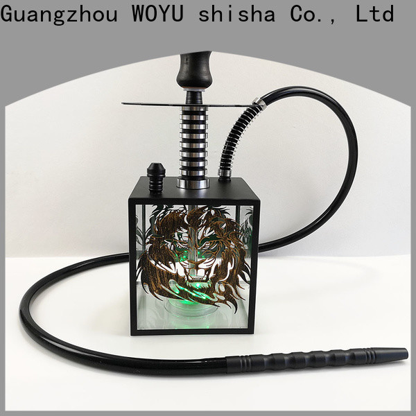 WOYU personalized acrylic shisha one-stop services for market