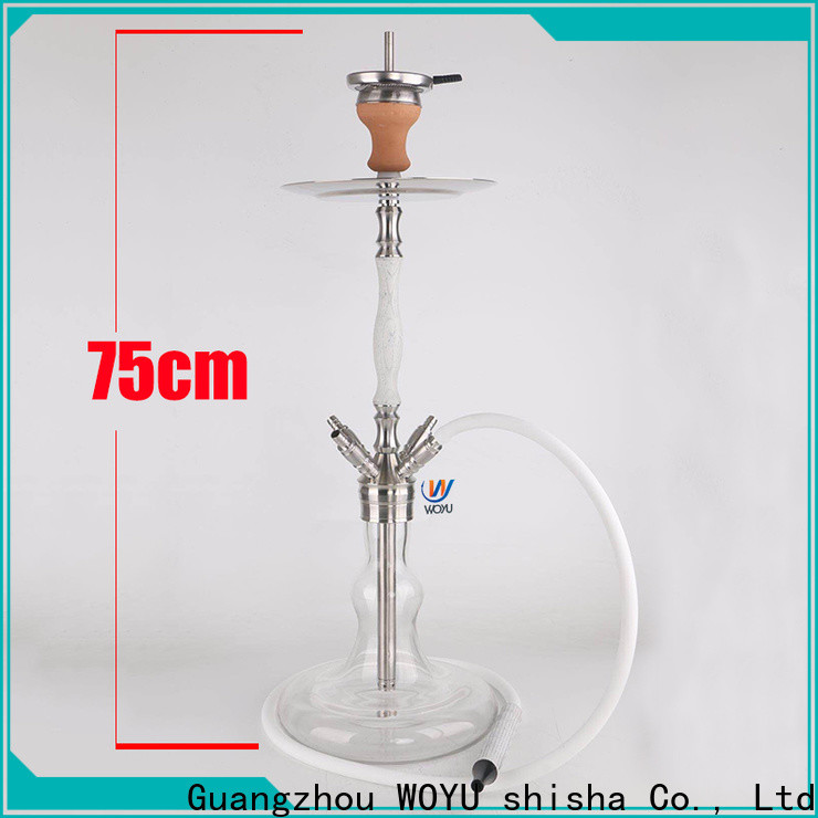 WOYU 100% quality wooden shisha customization for importer