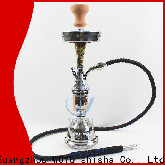 WOYU best-selling zinc alloy shisha supplier for market
