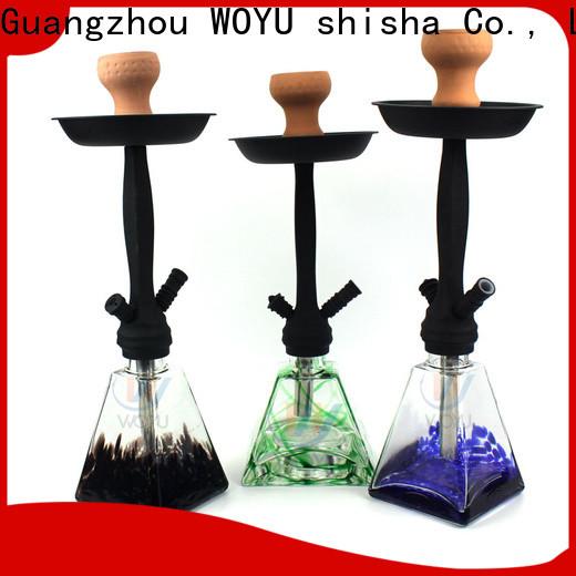 WOYU 100% quality zinc alloy shisha supplier for importer