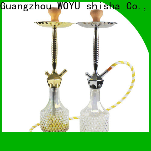 WOYU 100% quality zinc alloy shisha factory for importer