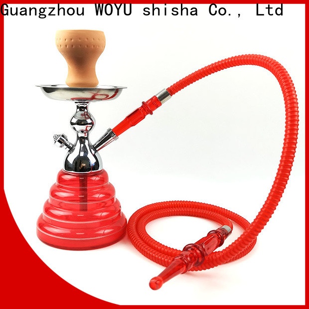 WOYU zinc alloy shisha factory for b2b