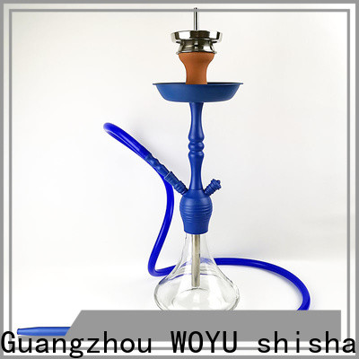 WOYU best-selling zinc alloy shisha factory for business