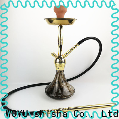 WOYU zinc alloy shisha supplier for trader