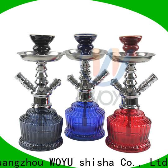 WOYU best-selling zinc alloy shisha manufacturer for business