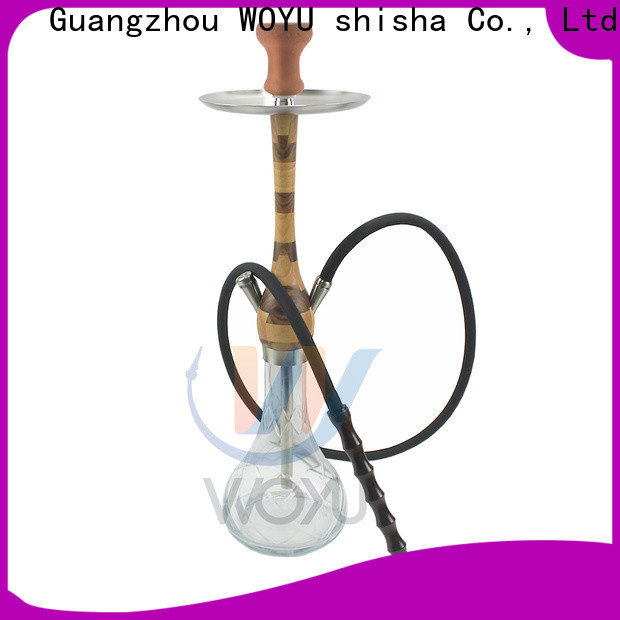 WOYU inexpensive wooden shisha customization for trader