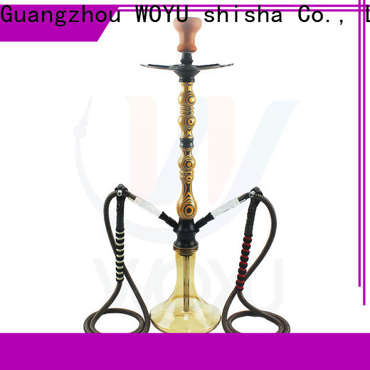 WOYU wooden shisha quick transaction for importer