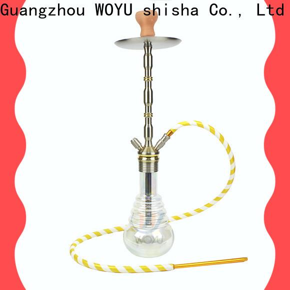 WOYU inexpensive aluminum shisha one-stop services for market