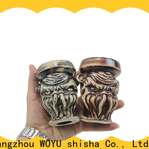 WOYU traditional style hookah bowl design for importer