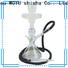 WOYU personalized glass shisha manufacturer for trader