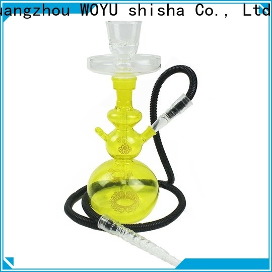 WOYU glass shisha factory for business