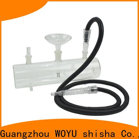 WOYU best-selling glass shisha brand for importer