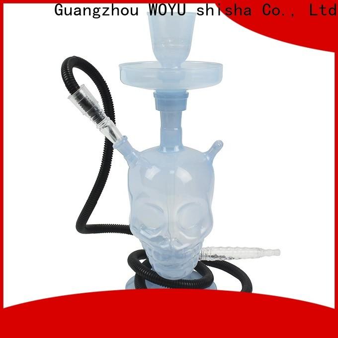 WOYU 100% quality glass shisha factory for trader