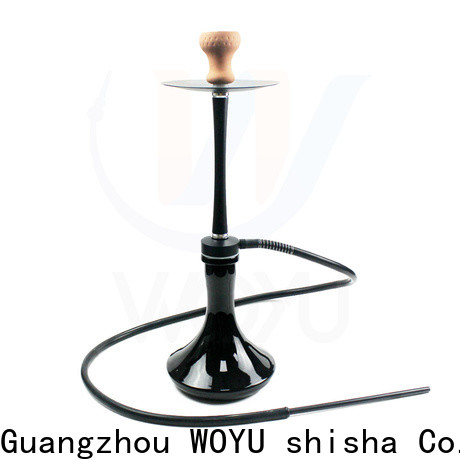 WOYU hot new releases aluminum shisha one-stop services for trader