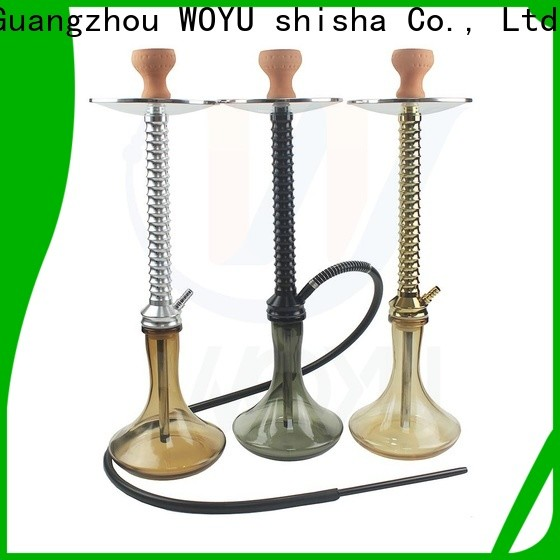 WOYU personalized aluminum shisha one-stop services for market