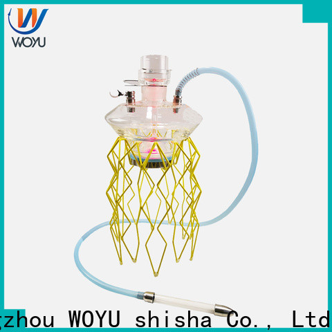 WOYU stainless steel shisha factory for trader