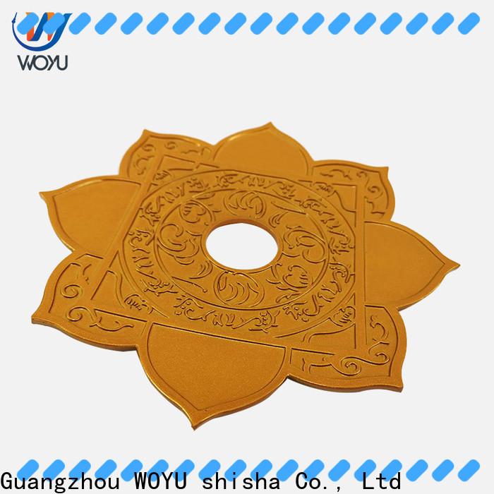 WOYU shisha plate supplier for importer