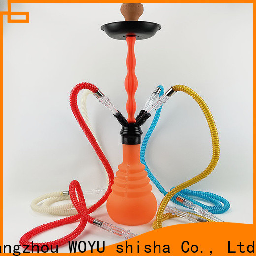 WOYU stable supply silicone shisha supplier for importer