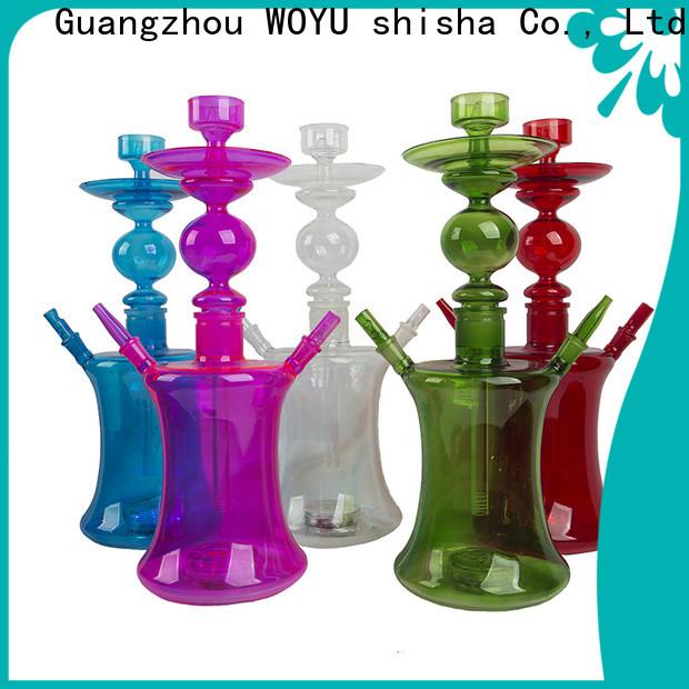 WOYU traditional glass shisha manufacturer for market
