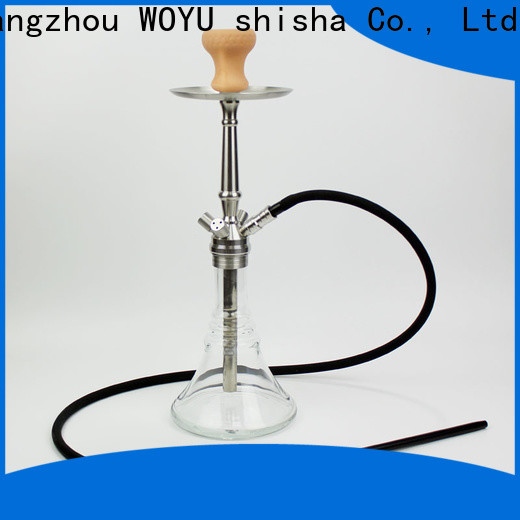 WOYU traditional stainless steel shisha manufacturer for importer