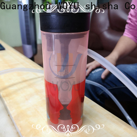 WOYU personalized acrylic shisha wholesale for importer