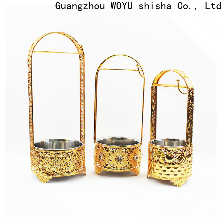 WOYU high quality charcoal basket factory for trader