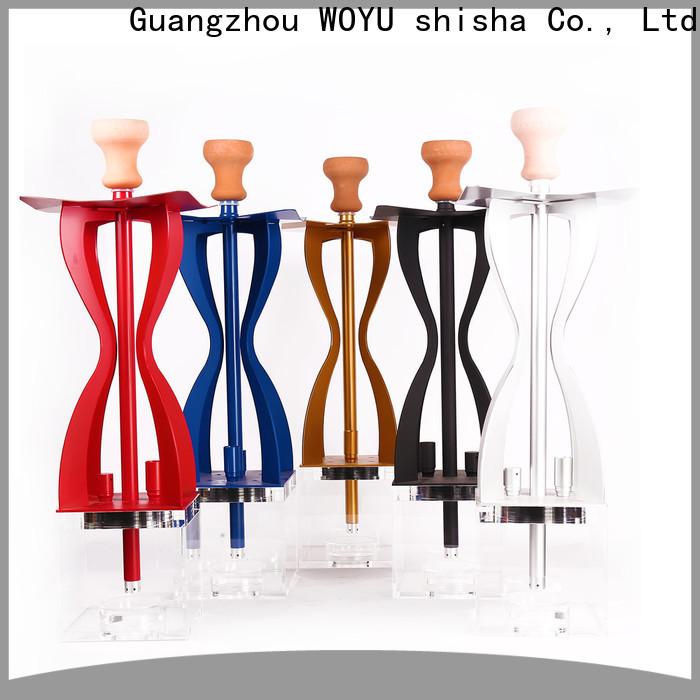 WOYU personalized acrylic shisha from China for business