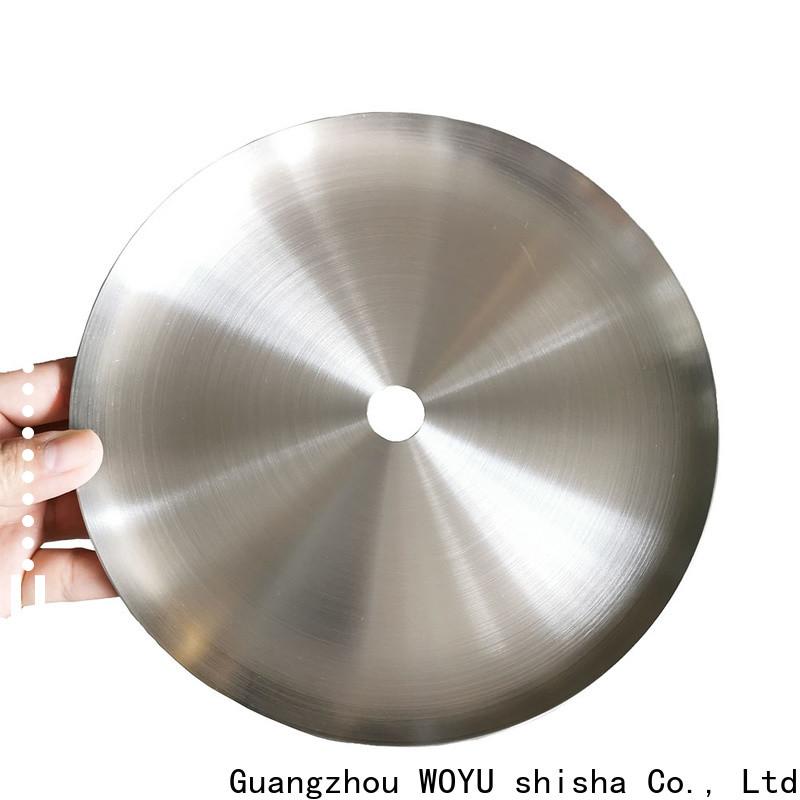 high standard shisha plate manufacturer for business